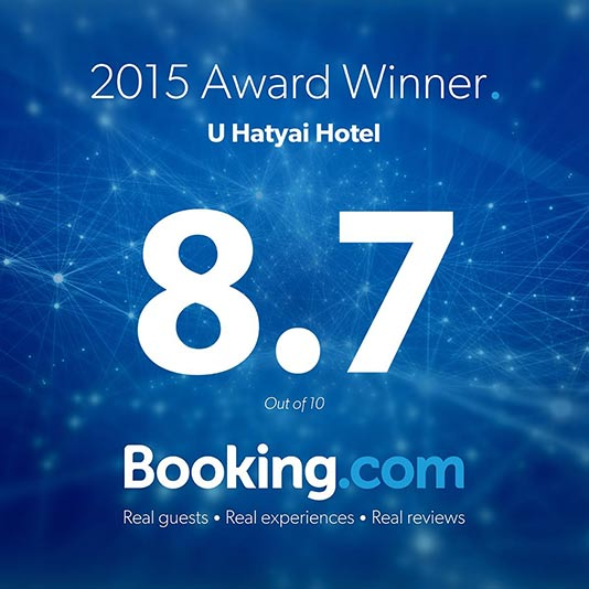 Hotel-Hat-Yai Booking-Award